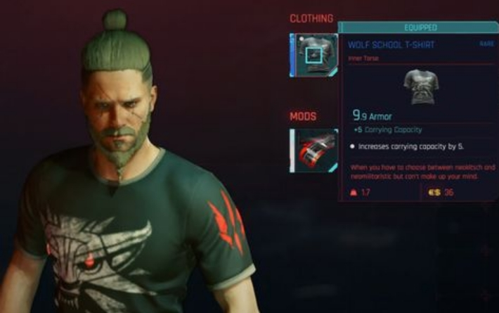 How to Get The Witcher-Themed Items in Cyberpunk 2077