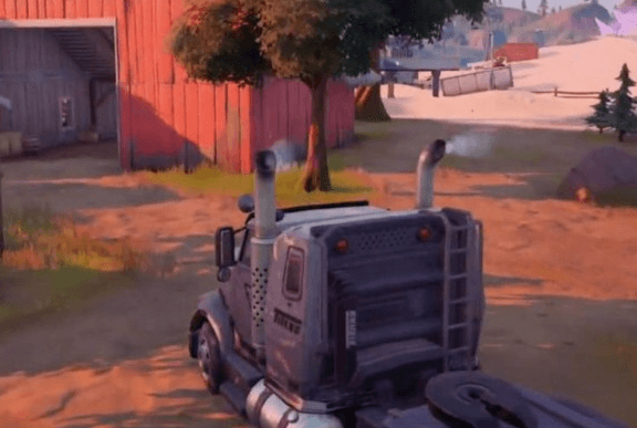 How to Deliver a Truck to Sunflower's Farm in Fortnite