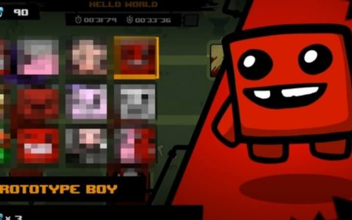 How to Unlock Prototype Boy in Super Meat Boy Forever